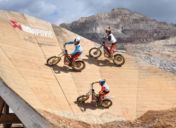 E-Trial Bike Wettrennen