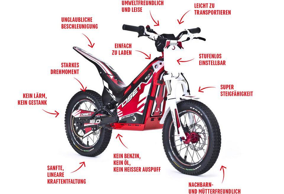 OSET Bike Vorteile